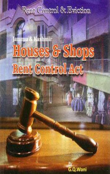 Cover of Houses and Shops Rent Control Act